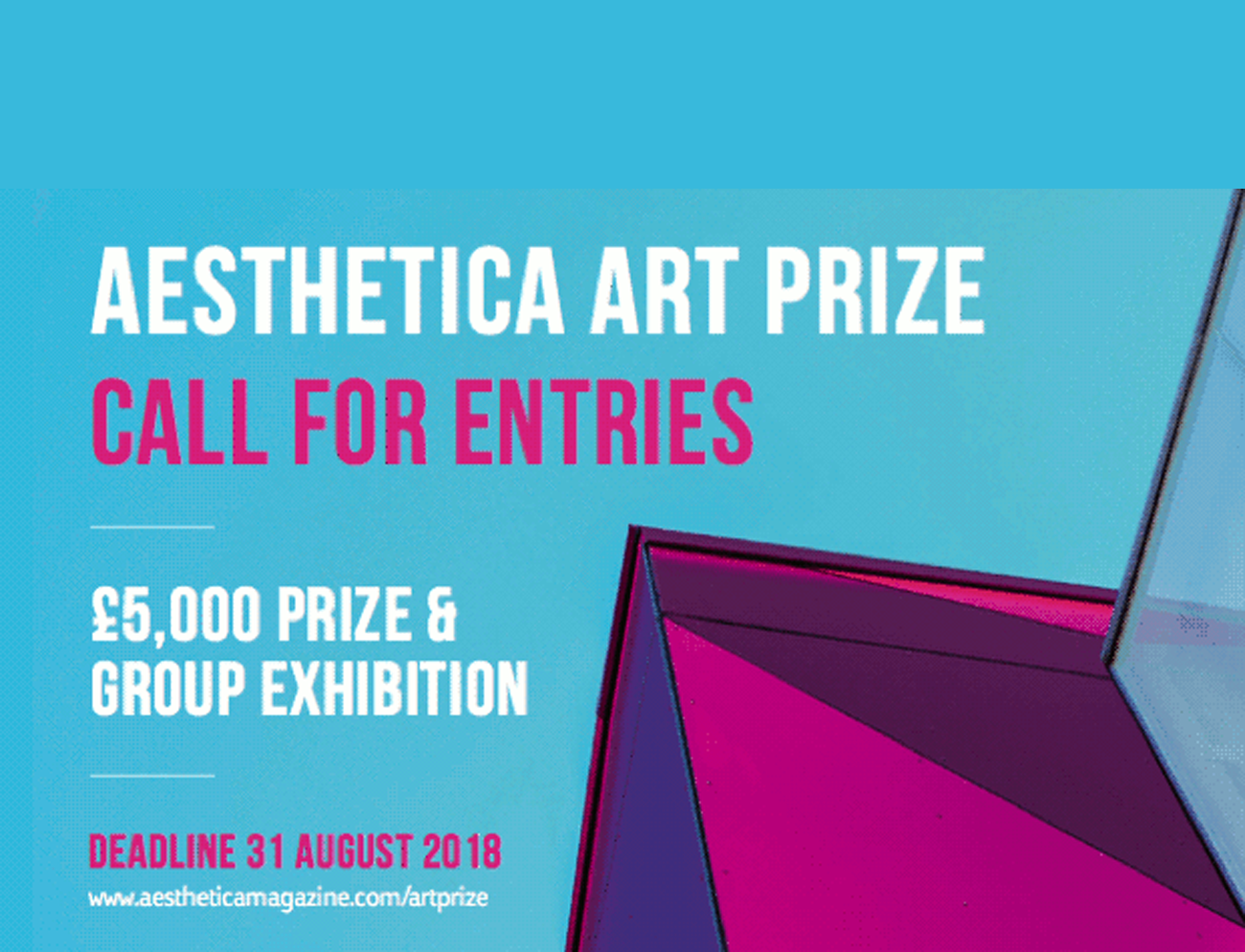 Aesthetica Art Prize 2018 – International Competition – Ta7rir